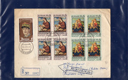 ##(DAN2011)- NEW HEBRIDES 1971-RTS Registed Cover To Christmas Island, RTS Retour To Sender To Firenze-Italy - Lettres & Documents