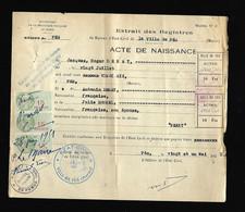 Timbre Fiscal  Fiscaux - Morocco (1956-...)