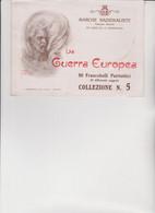 LIBRETTO  MARCHE NAZIONALISTE  COMPLETO DI 80 FRANCOBOLLI PATRIOTTICI. LA GUERRA  EUROPEA, - Cinderellas