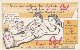 BON BUVARD  LAQUE STYL, Illustrateur Chesnot - 028 - Unclassified