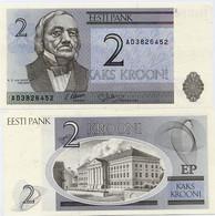 ESTONIA       2 Krooni       P-70       1992       UNC - Estonia