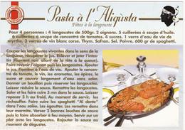 Recette CORSE:  PASTA à L'ALIQUSTA   : Edit: SEGNU  N° 6010  (Pâtes à La Langouste) (neuve) - Küchenrezepte