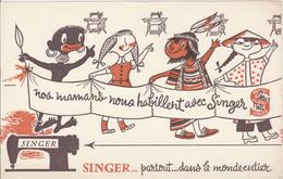 BON BUVARD SINGER - Légère éraflure Au Dos - 030 - Unclassified
