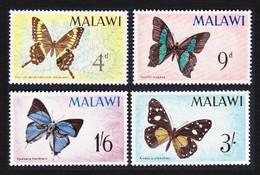 Malawi Butterflies 4v MNH SG#247-250 SC#37-40 - Malawi (1964-...)