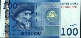 ♛ KYRGYZSTAN - 100 Som 2009 {Kyrgyz Banky} UNC P.26 A - Kirgizïe