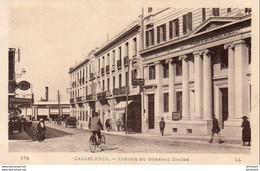 MAROC  CASABLANCA  Avenue Du Général Drude  ..... - Casablanca