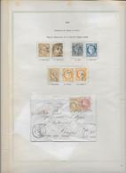 France - Collection Vendue Page Par Page - Oblitérés - B/TB - 1870 Besetzung Von Paris