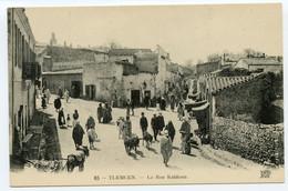 3/ CPA TLEMCEN  85 La Rue Kaldoun   ND Phot - Tlemcen