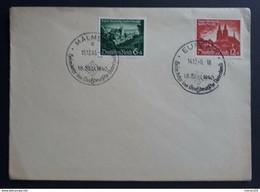 Deutsches Reich 1940, Brief Mi 748-49 SST EUPEN/MALMEDY - Storia Postale