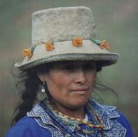PERU Peasant Woman From The Cordillera Blanca HUARAZ Portrait Femme Paysanne De La Cordillère Blanche PEROU - Peru