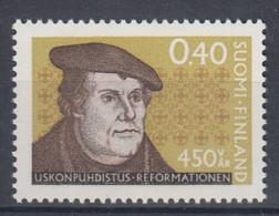 +M1022. Finland 1967. Reformation. Martin Luther. Michel 629. MNH(**) - Ungebraucht