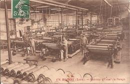 ROANNE (42) Intérieur D'Usine - Le Parage En 1909 - Roanne