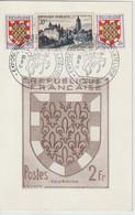 France 1951 Exposition Postale Et Philatélique Tours (37) - Gedenkstempel