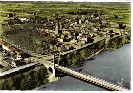 31 En Avion Au Dessus De BESSIERES Vers Montastruc La Conseillère N°1 Pont Suspendu Sur Le Tarn Belle Vue Générale - Montastruc-la-Conseillère