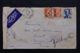 ALGÉRIE - Enveloppe De Constantine En 1943 Pour La Suisse Avec Contrôle Postal - L 75486 - Storia Postale