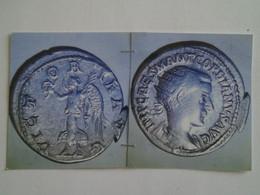 Antoninien Gordien III Tête à Dr Rv / Victoria Aug Flan Large - 5. La Crisis Militar (235 / 284)