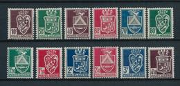 ALGERIE 1942/45 . Série N°s 184 à 195  . Neufs ** (MNH) . - Unused Stamps