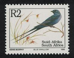 South Africa Birds Blue Swallow MNH SG#818c - Ohne Zuordnung