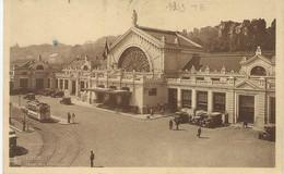 REF2242/ CP Liège Gare Des Guillemins Animée Tram Voitures - Liege