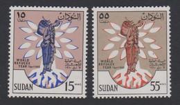 Sudan World Refugee Year 2v MNH SG#153-154 SC#128-129 - Soedan (1954-...)