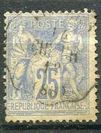 FRANCE -  TYPE SAGE 1876 YVERT N° 68 OBLITERE COTE 90E - 1876-1878 Sage (Tipo I)