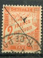 FRANCE -  TAXES 1893/1935 YVERT N° 41 OBLITERE COTE 75E - 1859-1955 Gebraucht