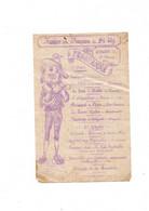 Programme Duconcert Fanfare Des Pompiers De ST AY 9 Mars 1911 - Programs