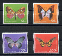 RC 18946 COTE D'IVOIRE COTE 30€ N° 469 / 472 SÉRIE PAPILLON NEUF ** TB - Ivory Coast (1960-...)