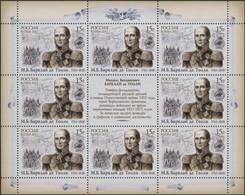 Russia Russland Russie 2011  The 250th Anniversary Of The Birth Of Barclai De Tolli MNH ** - Ongebruikt