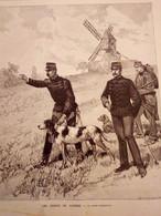 1888 LES CHIENS DE GUERRE - ILOTS D'ECREHOU - FETES DE BARCELONE - SARAGOSSE - CLIPINKUER DE DUNKERQUE - 1850 - 1899