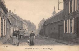 62-DOUVRIN-RUE DE L EGLISE-N°2046-C/0029 - Altri Comuni