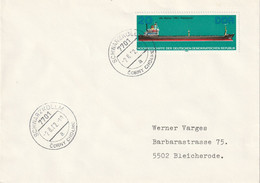 DV 120) DDR 1982 Mi# 2712 MS Weimar Frachtschiff: St 7701 Schwarzkollm Corny Cholmc - Schiffe