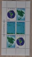 SINT MAARTEN ++ NEW NEW ++ 2011 COMPLETE SHEET KAARTEN MAPS MNH NEUF ** - Curacao, Netherlands Antilles, Aruba