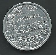 Polynesie Française  Polynésie 2 Francs 1988 -  Pieb 24702 - Französisch-Polynesien