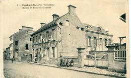 14 - Port En Bessin : Mairie Et Ecole De Garçons - Port-en-Bessin-Huppain