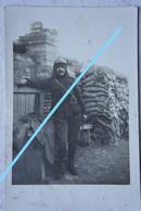 Photo ABL Soldat Belge En Tranchée Tranchées IJZER Belgische Leger 1914-18 WO1 Armée Belge WW1 Militaria - Krieg, Militär