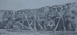 Photo ABL Soldats Belges En Tranchée Tranchées IJZER Belgische Leger 1914-18 WO1 Armée Belge WW1 Militaria - Krieg, Militär