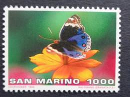 SAINT MARIN 1996 UNIFICATO N° 1492 ** - FARFALLE - Nuovi