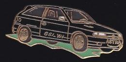 68060- Pin's.Opel Astra GSI.signé Démons Et Merveilles. - Opel