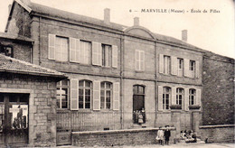 MARVILLE  -  Ecole De Filles  -  Belle Animation  -  N°6 - Sonstige Gemeinden