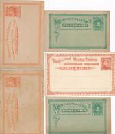 6 CARTES Entier Postal De Terre-Neuve NEWFOUNDLAND - America (Other)