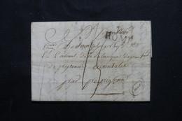 ITALIE - Marque Postale De Rome Sur Lettre Pour La France - L 75530 - 1. ...-1850 Vorphilatelie