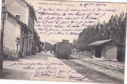 Cpa FOURAS LES BAINS LA GARE 1904 - Fouras-les-Bains