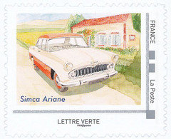 FRANCE SIMCA ARIANE Neuf**. Voitures Et Vacances. - Coches