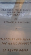 Marco The Magi Wise Man Of Magic WILLIAM RAUSCHER Le Grand David 1983 - Other