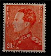 1936 - Nr 435** Rood Punt In Tanding, Kader Doorgetrokken - Sonstige
