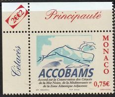 MONACO - ACCOBAMS - Accords Conservation Cétacés - Y&T N° 2342 - 2002 - Umweltschutz Und Klima