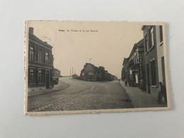 Carte Postale Ancienne  Nimy  Le Viaduc Et La Rue Grande - Mons