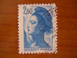 France  Obl  Marianne N° 2221 - 1982-90 Libertà Di Gandon