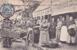 Cpa BORDEAUX PITTORESQUE 10 A PORTE NEUVE LES REVENDEUSES 1904 - Fliegende Händler